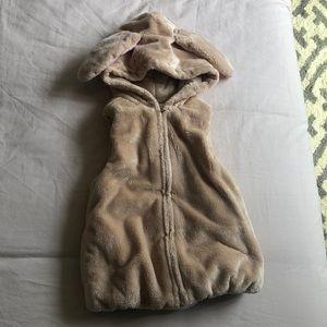 Adorable bunny vest